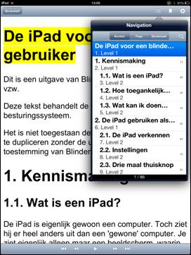 Read2Go koppenstructuur screenshot